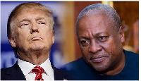 Fmr. President John Mahama says US President Donald trump's travel ban is regrettable