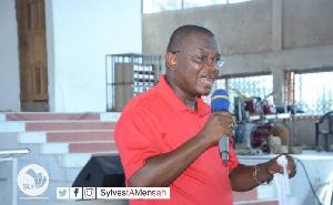 Sylvester Mensah, Flagbearer aspirant of NDC