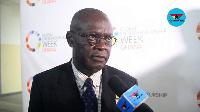 Prof. Ebenezer Oduro Owusu, Vice Chancellor of University of Ghana