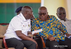 President Akufo-Addo and Dr Bawumia