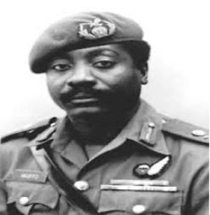 The late former head of state, Lieutenant General Fred Akuffo