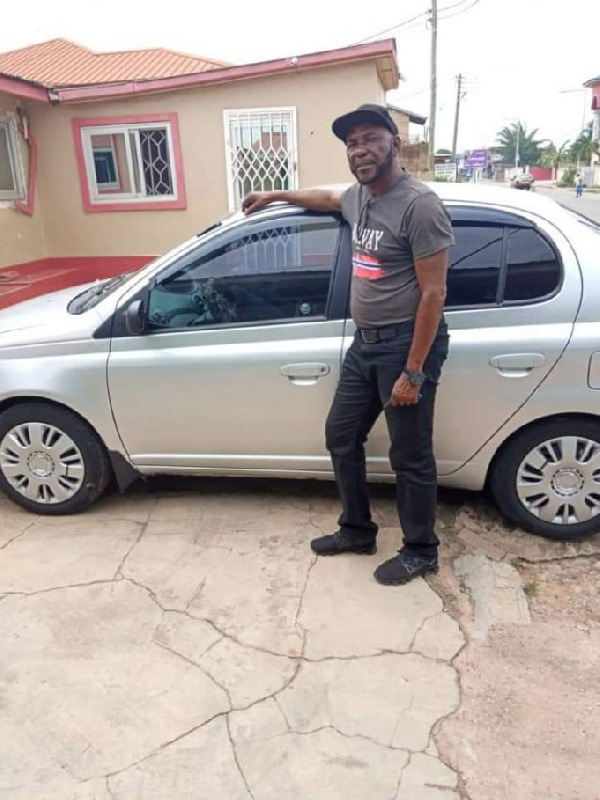 Legendary J.E. Sarpong gifted car by former student athletes of Accra Academy