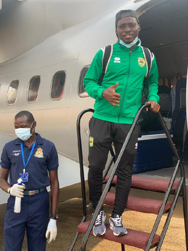 Asante Kotoko touch down in Mauritania ahead of FC Nouadhibou clash