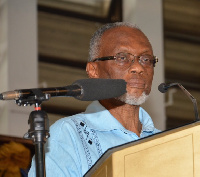 Professor Akilagpa Sawyerr was also honoured