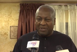 Former President, John Mahama is leading the Observer mission to monitor the Liberian polls