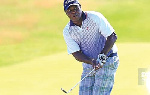 Ghanaian professional golfer Emos Korblah
