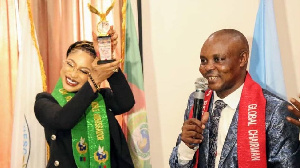 'Tonto Dike Ambassador award no get anything to do wit United Nations and e dey illegal'