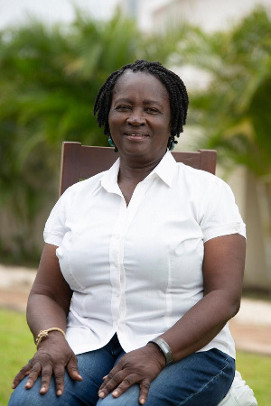 Prof Jane Naana Opoku Agyemang is the running mate of the NDC