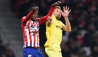 Thomas Partey was heavily criticised by the Rojiblancos fans after their 3-3 draw with Girona