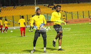 Asante Kotoko duo, Felix Annan and Kwame Baah