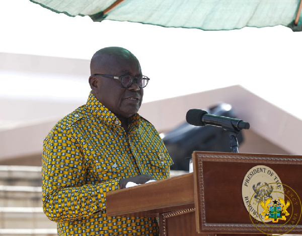 President Akufo-Addo pledges support for Catholic Church