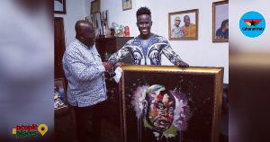 Ashenso with President Nana Addo Dankwa Akufo-Addo