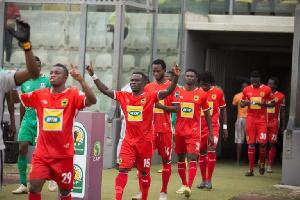 Kotoko must beat Pillars in Kumasi to progress to the next round