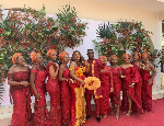 Joe Mettle exhibits dancing skills at wedding