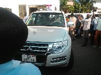 The alleged Mitsubishi Pajero vehicle bribe