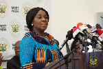 Cecilia Abena Dapaah, Minister of Sanitation and Water Resources