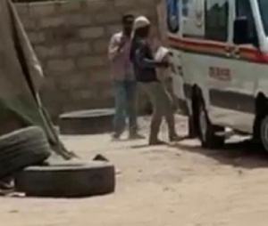 The Ambulance was use in conveying cement