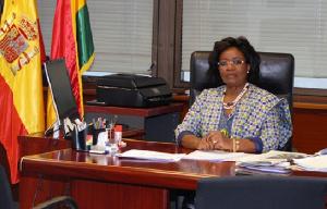 Madam Elizabeth Adjei, Ghana's Ambassador to Spain