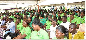 National Service personnel demand increase in allowance as promised by previous gov't