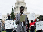 Members of the Concerned Ghanaians Group, USA