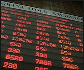 Trading activity declined as 95,807 shares valued at GH¢67,950