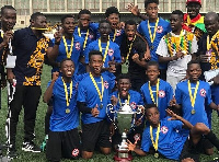 GreenGEN Fc overcame their fears to win the glittering trophy against all odds