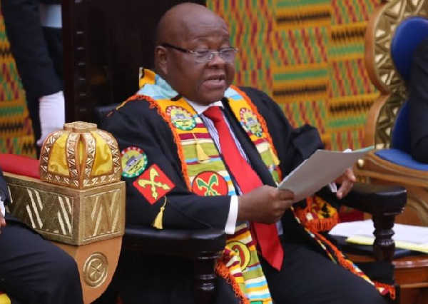 Sir John-Nketia friendship must teach us not to hate each other because of politics – Speaker