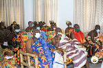 The chief said politics must not divide the good people of Ghana