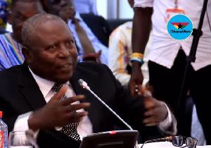 Martin Amidu appeared before Parliament