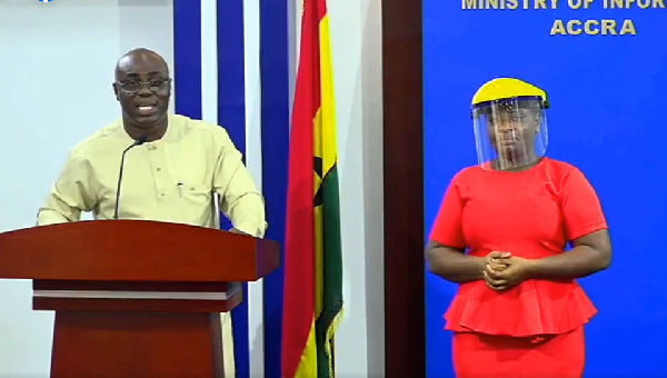 Government is giving an update of infrastructural projects being undertaken in the Akufo-Addo admin