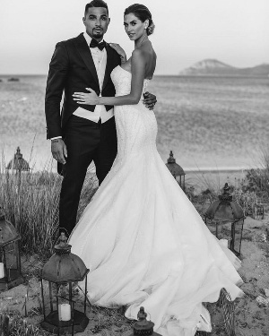Kevin Prince Boateng and wife Melissa Satta