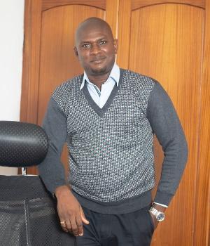 Writer, Kormi Courage Amese