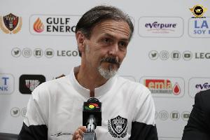 Legon Cities FC coach,Goran Barjaktarevic