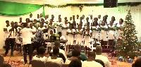 UHAS Choir at the Volta Serene Hotel