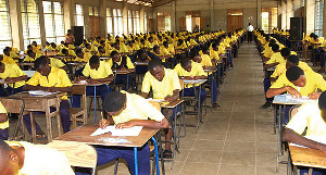 WAEC Exams Students In A Hall