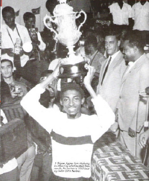 Ghana won its first AFCON on this day in 1963
