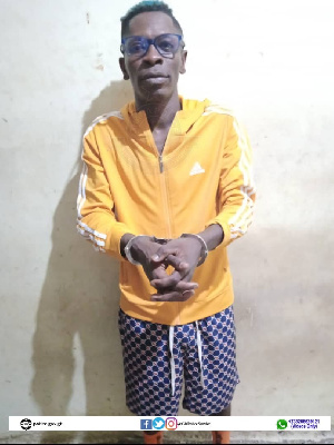 Shatta Wale was arrested Tuesday night for allegedlly conspiring to stage a gun attack on himself