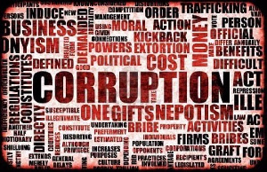 Citizens are being admonished to report corrupt activities
