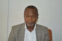 Nii Amasah Namoale, Campaign Coordinator for Prof. Alabi