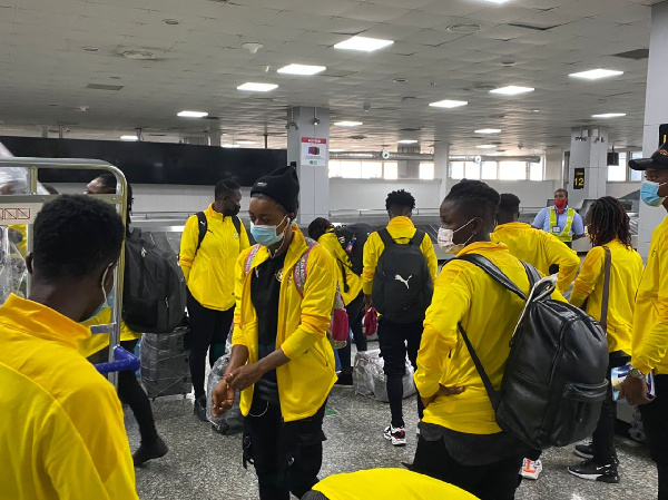 Black Queens land in Lagos for AWCON qualifier