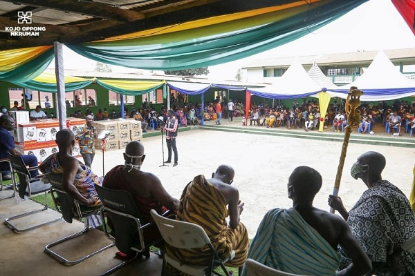 Easter Love: Oppong Nkrumah supports 400 constituents with paid apprenticeship program. 52