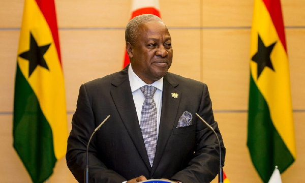 I'll build a Ghana for all - Mahama
