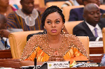 Sarah Adwoa Safo, MP for  Dome Kwabenya constituency