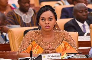 Gender Minister, Sarah Adwoa Safo