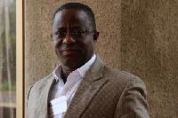 Peter Amewu, Volta Regional Chairman of the NPP