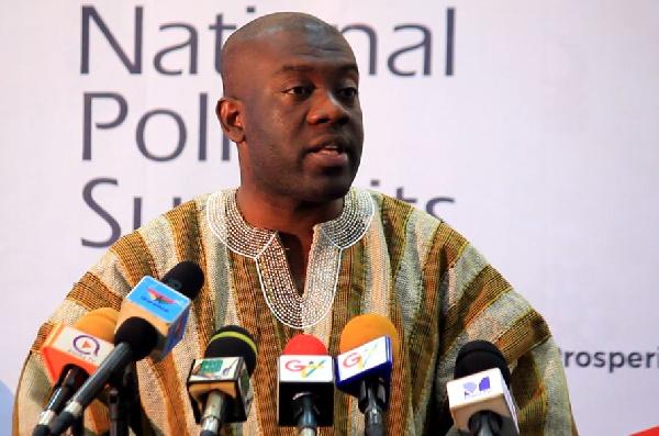Kojo Oppong Nkrumah is Information Minister-designate
