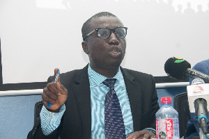 Lead Consultant for the study, Mr. Appiah Kusi Adomako
