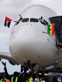 Captain Solomon Quainoo, a Ghanaian pilot with Emirates Airlines