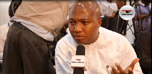 Member of Parliament for the North Tongu, Samuel Okudzeto Ablakwa
