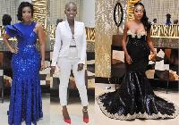 Joselyn Dumas, Ahuofe Patri and Anita Akufo